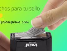 ¿Cauchos gastados?: Reutiliza tu viejo sello