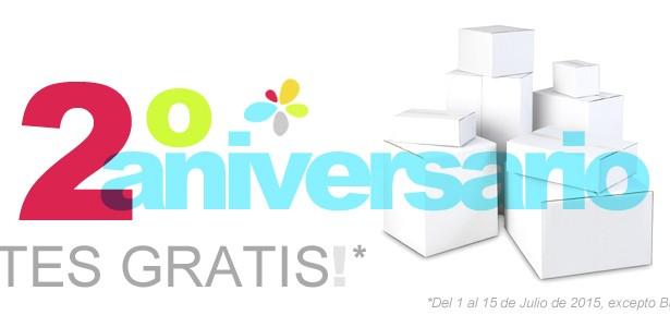 Portes gratis – 2º Aniversario de yoloimprimo.com