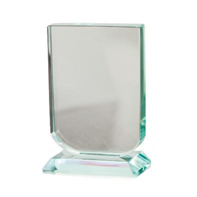 Placa mini trofeo cristal