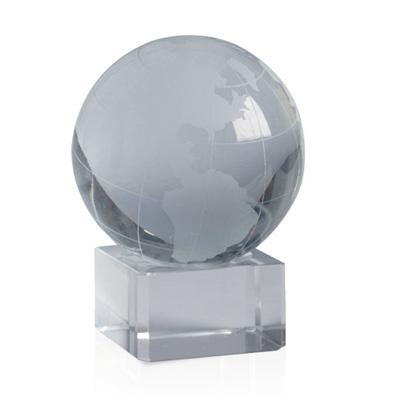Bola mundo de cristal