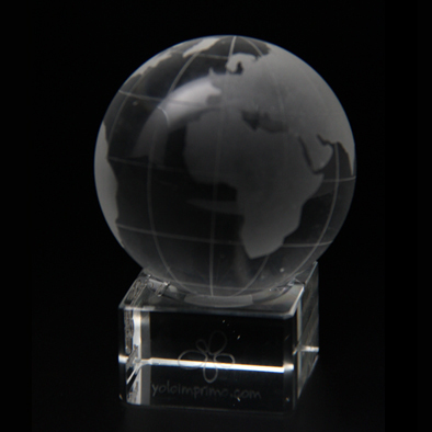 Foto Imprenta - Bola mundo de cristal