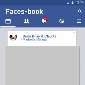Photocall Facebook 70x100