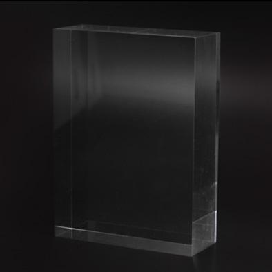 Foto Imprenta - Bloque metacrilato incoloro 15x10 cm.